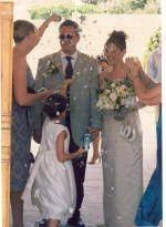 Caroline and Stephen were married in Limassol, Cyprus