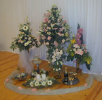 Flower arrangements delivered to your wedding in Cyprus