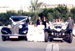 Vintage cars are available for weddings in Cyprus