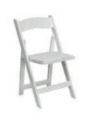 Folding  chair hire in Cyprus