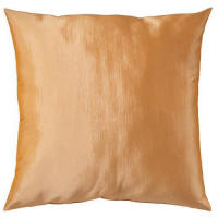 Cushion hire in Cyprus - gold 50 x 50 cushion - polyester