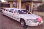 This lovely stretch Limo is also available to get you to the church on time and in style!