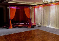 Mendhi night drapes and cushion hire in Cyprus