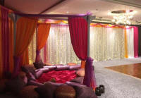 Mendhi night drapes and cushion rental in Cyprus