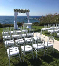 Chairs and table hire - eveny planning in Cyprus