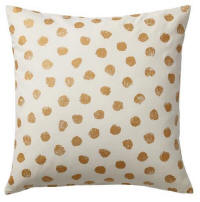 Cushion hire in Cyprus - gold 50 x 50 cushion - cotton outer